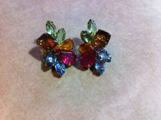 Rocking MultiColored Vintage Rhinestone by VintageBaublesnBits, $15.00