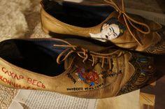 Schühchen #Schuhe #FridaKahlo #Kunst #Handmade