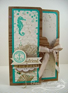 addINKtive designs: By the Tide Card and Gift Box