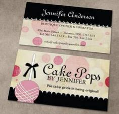 Cupcake business card templates ne14 design bakery business card cake business cards templates free choice image card design and cake business cards templates free accmission Gallery