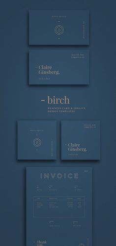 Looking for some neat business card design? 1948 Creative Co. has a new collection - Birch. Standard business card and square business card plus invoice template. Organized photoshop and AI files for easy editing. If you are designers, photographers, freelancers or entrepreneurs. You will love this collection.