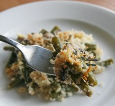 Healthy Green Bean #Casserole