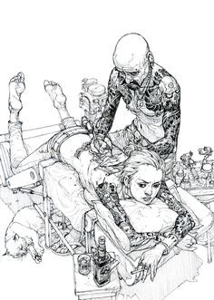 Kim Jung Gi - Illustratore e comic book artist coreano | Collater.al
