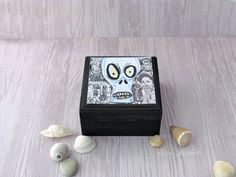 Day of the dead Box  Dia de los Muertos Jewelry Box by WalterSilva, $20.95