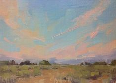 "Daily Paintworks - ""Almost Sunrise"" - Original Fine Art for Sale - © Melanie Thompson Daylight Savings Time, Fine Art Auctions, Fine Art Gallery, Impressionism, Art For Sale, Sunrise, Scene, Artwork, Landscapes"