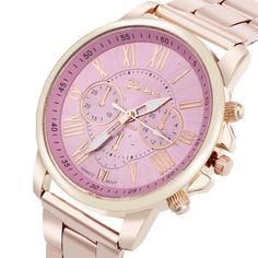 $2.75 (Buy here: https://alitems.com/g/1e8d114494ebda23ff8b16525dc3e8/?i=5&ulp=https%3A%2F%2Fwww.aliexpress.com%2Fitem%2F2016-Hot-Sale-Roman-Number-Geneva-Stainless-Steel-Quartz-Sports-Dial-Wrist-Watch-Pink-Good-looking%2F32637374213.html ) 2016 Hot Sale Roman Number Geneva Stainless Steel Quartz Sports Dial Wrist Watch Pink Good-looking Mar 24 for just $2.75