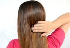 Straighten Your Hair With Hair Bands