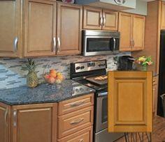 RTA Madison Toffee Kitchen Cabinets #cabinetsdesign #kitchenideas #kitchendesign #kitchendecor #discount #sale #july #RTA