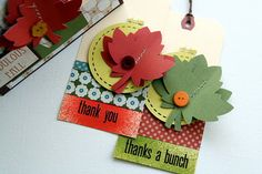 lily bee design blog, fall tags by Piradee Talvanna