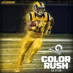The Color Rush is here! St. Louis Rams St Louis Rams edc971de3