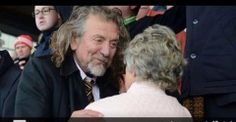 Robert Plant at a Wolverhampton game