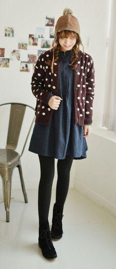 Cute denim dress <3