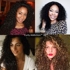 #ONYCHair #TBT is all about the #curls.  These #ONYCBeauty serving a dose of #fabulous with their Curly Addiction™ 3B #hair!  Shop US Now>>> ONYCHair.com Shop UK Now>>> ONYCHair.uk Shop NG Now>>> ONYCHair.ng
