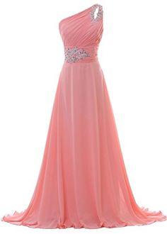 Faisata Women's One Shoulder Coral Pink Beaded Long Prom Dress US 10 Faisata http://www.amazon.com/dp/B01DIXQYGO/ref=cm_sw_r_pi_dp_.Xi.wb1B6WTQV