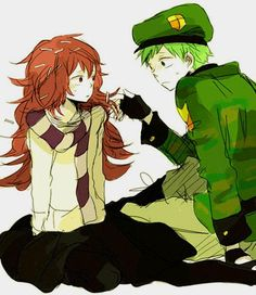 Happy Tree Friends (HTF)- Flippy x Flaky #Anime
