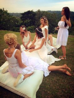 maids in the grass