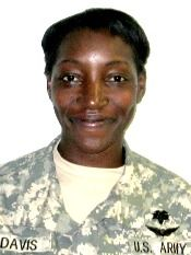 KILLED IN ACTION Army SSG. Carletta S. Davis, 34, of Anchorage, Alaska. Died November 5, 2007, serving during Operation Iraqi Freedom. Assigned to 10th Brigade Support Battalion, 1st Brigade Combat Team, 10th Mountain Division (Light Infantry), Fort Drum, New York. Died in Tal Al-Dahab, Iraq, of wounds sustained when an improvised explosive device detonated near her vehicle during combat operations.