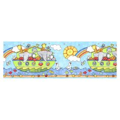 Norwall Noah's Ark Wallpaper Border