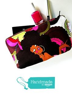 Soul Sisters Cosmetic Bag, Makeup Travel Bag, Women's Toiletry Bag from 144 Collection https://smile.amazon.com/dp/B01N9MST6H/ref=hnd_sw_r_pi_dp_vWUXyb0TFHMR7 #handmadeatamazon