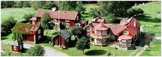 Spinkarp Outdoor activities and spa in Småland Outdoor Activities, Sweden, Castle, Wanderlust, Spa, Cabin, House Styles, Home Decor, Decoration Home