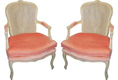 French Fauteuils, Pair