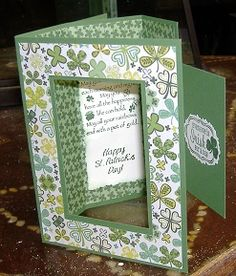Mary Lee's Stamping: Dble Tri-fold