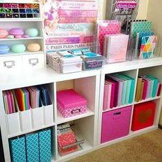 Craft Room Storage, Office Organization, Organizing Ideas, Storage Ideas, Diy Storage, Bedroom Storage, Craft Rooms, Craft Room Shelves, Scrapbook Room Organization