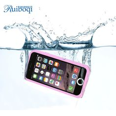2015 Ruiboqi Brand Waterproof Cases for iPhone 6 Newest Ultra Thin 4 Colors Waterproof Cell Phone Cases Wholesale and Retail