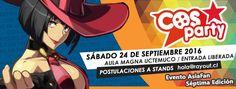 CosParty 2016 - Temuco, Chile, 24 de Septiembre 2016 ~ Kagi Nippon He ~ Anime Nippon-Jin
