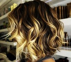 short and curls
