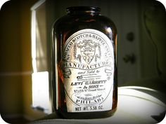 Levi Garrett & Sons Tobacco Scotch Snuff Bottle c by PepeChavez, $9.99