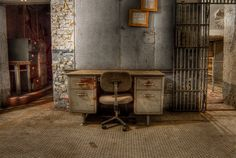 Death Row Office, Missouri State Penitentiary by kong1933, via Flickr