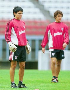 Javier Saviola + Pablo Aimar. River Plate.