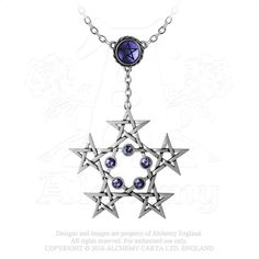 Alchemy of England - P761 - PentaGramatron Necklace, $52.50 (http://www.alchemyofengland.com/p761-pentagramatron-necklace/)
