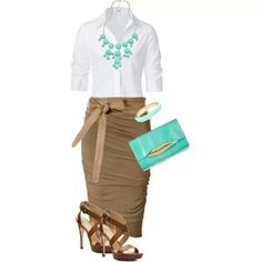 skirt outfit fancy