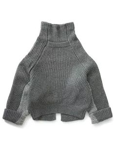 TOGA : Rib Knit Pullover (grey) | Sumally (サマリー)