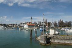 Romanshorn, Switzerland is also on the shoreline of Lake Constance.