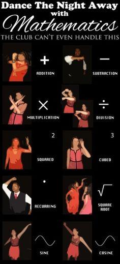 Dance the night away with mathematics