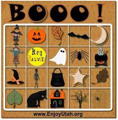 Halloween Bingo / Scavenger Hunt
