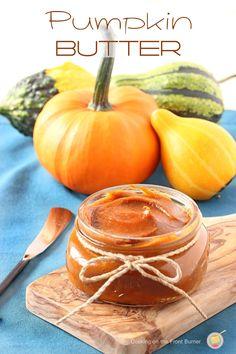 Pumpkin Butter | Cooking on the Front Burner