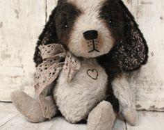 Artist Bear handmade Puppy Tabitha!