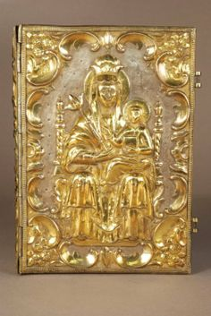 Gospel Book binding, 1825, Armenia.