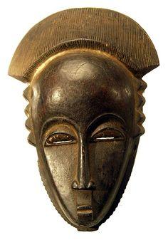 Baule Mask 112, Ivory Coast