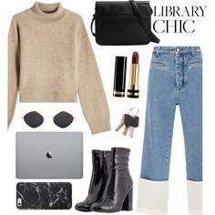 Student's set by dkoventri on Polyvore featuring Rejina Pyo, Loewe, Steve Madden, Matt & Nat and Gucci