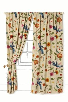 Mantadia curtains from anthropologie