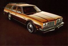 1979 Oldsmobile Custom Cruiser Station Wagon.. THIS WAS THE CAR I DROVE WHEN I LEARNED TO DRIVE:)