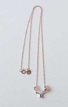 bb53f80f41 Collier Fleur cerf déclaration collier bois de cerf collier | Etsy Collier  Fleur, Bois De