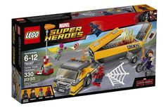 Offical look at NEW Lego Marvel SuperHeros Set Civil War with an offical look at SpiderMan!