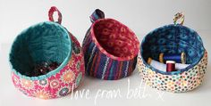 They Make Wonderful Gifts, Too! You'll find 101 uses for these cute little fabric containers, both in your sewing room and all around the house. They make wonderful gifts, too, whether individually or in sets of three. Choose two complementary fat quarters for each pod and watch how nicely they come together. You'll have to …