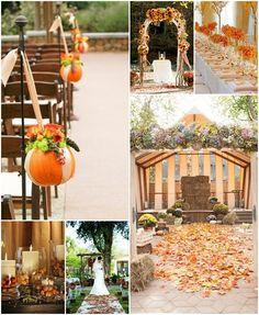 Bir sonbahar düğünü...